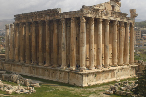 at Baalbek in Lebanon
